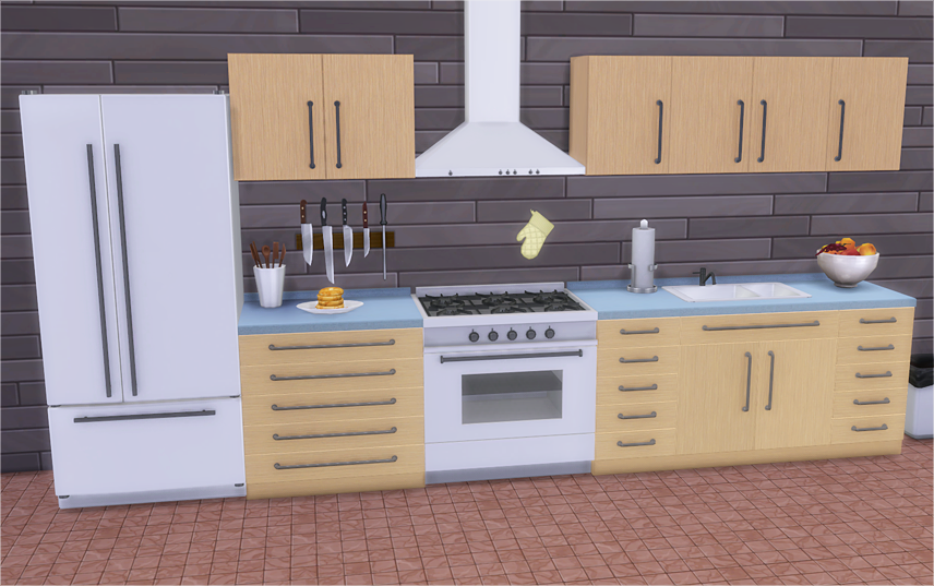 Veranka's TS4 Downloads | Vanadium Kitchen I converted wondymoon's...