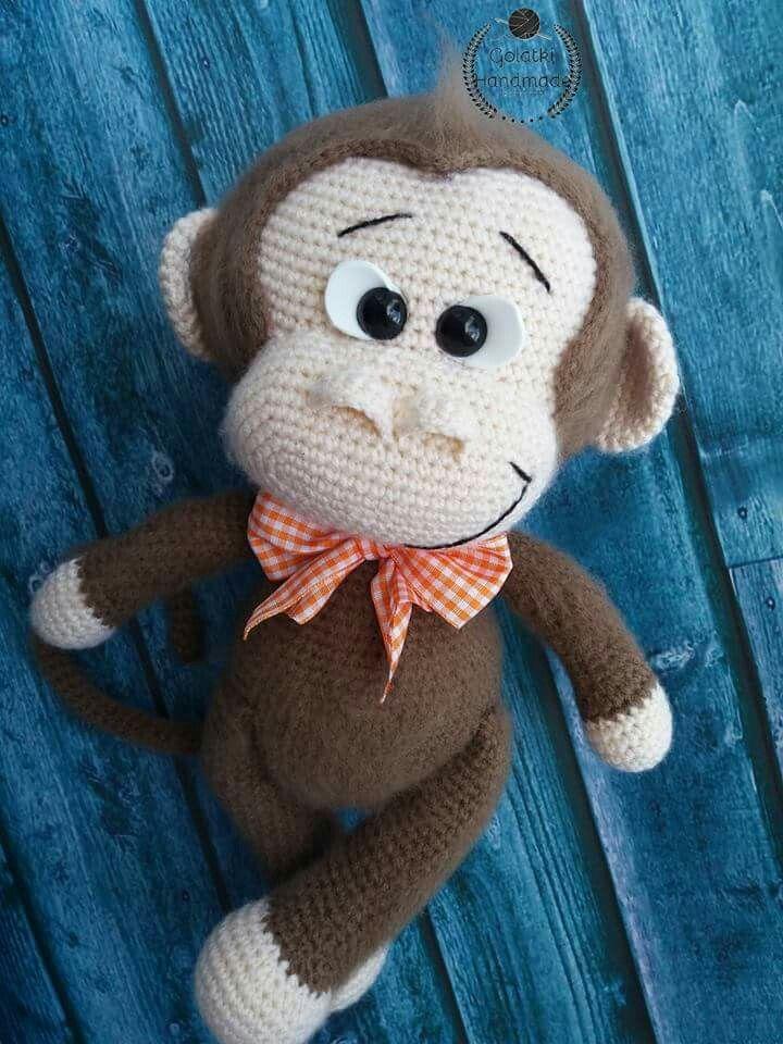Cute Monkey Orginal Pattern From Havva Design Amigurumi Crochet