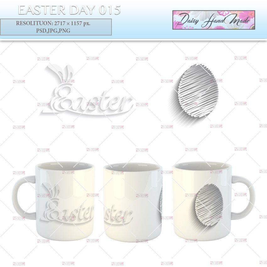 Mug Design Sublimation Template Easter Day Mug Sublimation Designs Instant Download Mok