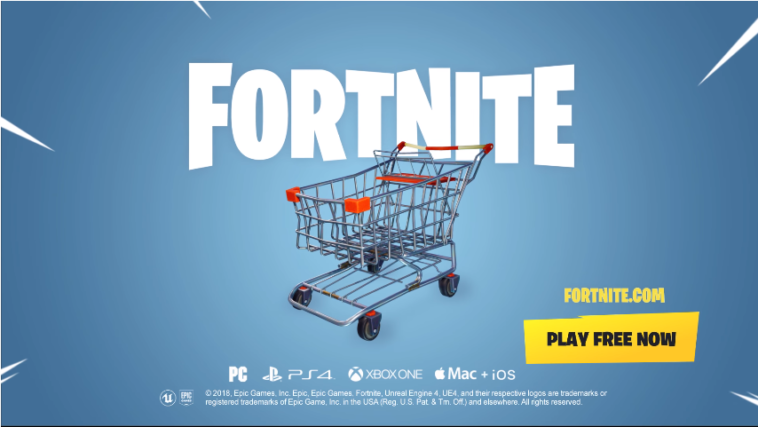 """Fortnite adds their first """"vehicle"""" to the game Fortnite"""