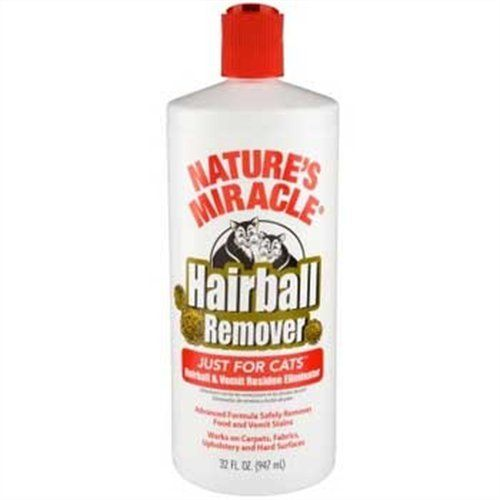 Natures Miracle Just For Cats Hairball Cleaner 32ounce P5720