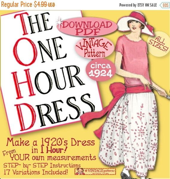 1920s Patterns - Vintage, Reproduction Sewing Patterns | Frock ...