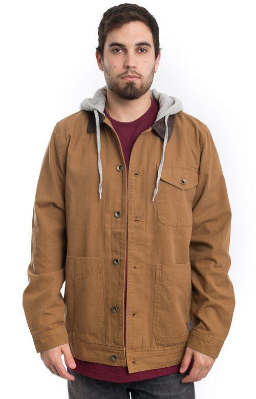 de25968e Vans, Prentice Jacket - Rubber | Men's Jackets | Jackets, Canvas ...