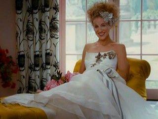 And The City Carrie Bradshaw Wedding Dress Carolina Herrera Mafash14