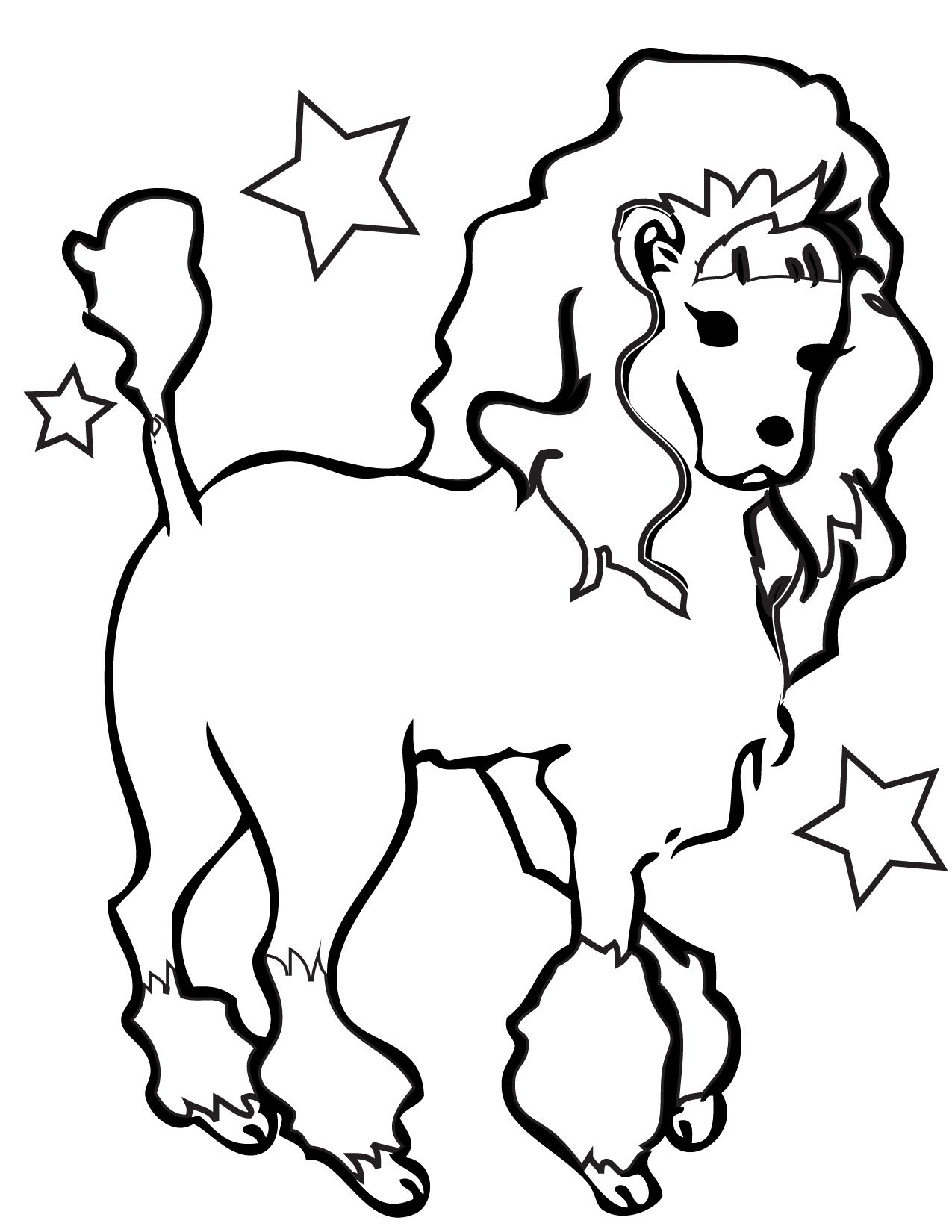 Beautiful Girl Dogs Coloring Page | Dog | Pinterest | Dog and Girls