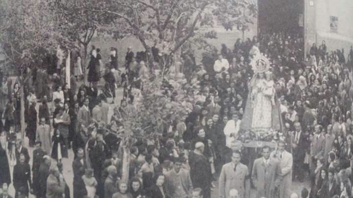 Tomelloso Primera Romeria De La Nuestra Virgen De La Viñas 1944 Romeria Virgen Vino