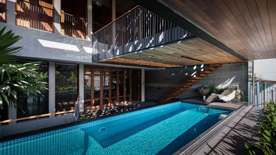 H House By Vo Duy Kim Architects With Images Luxury Homes