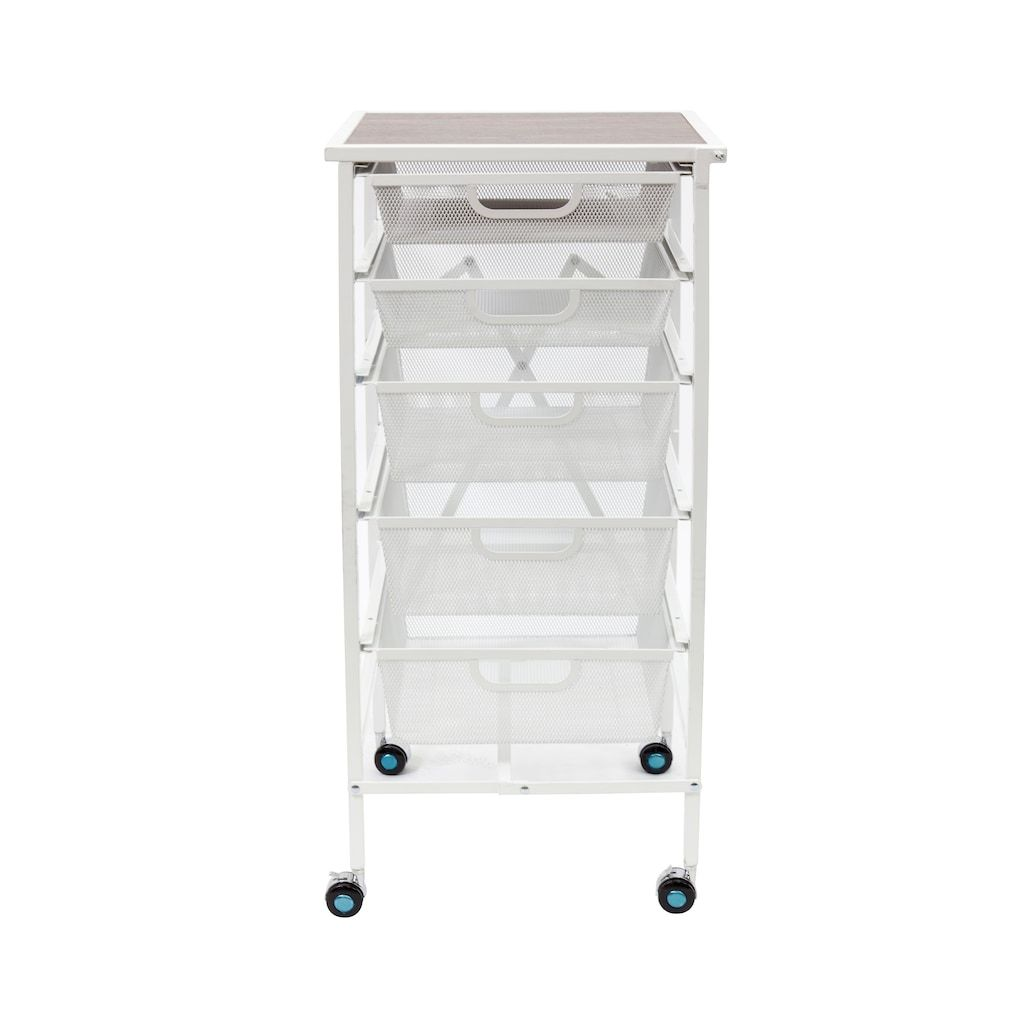 Origami 5 Drawer Storage Cart In 2020 5 Drawer Storage Storage Drawers Storage Cart