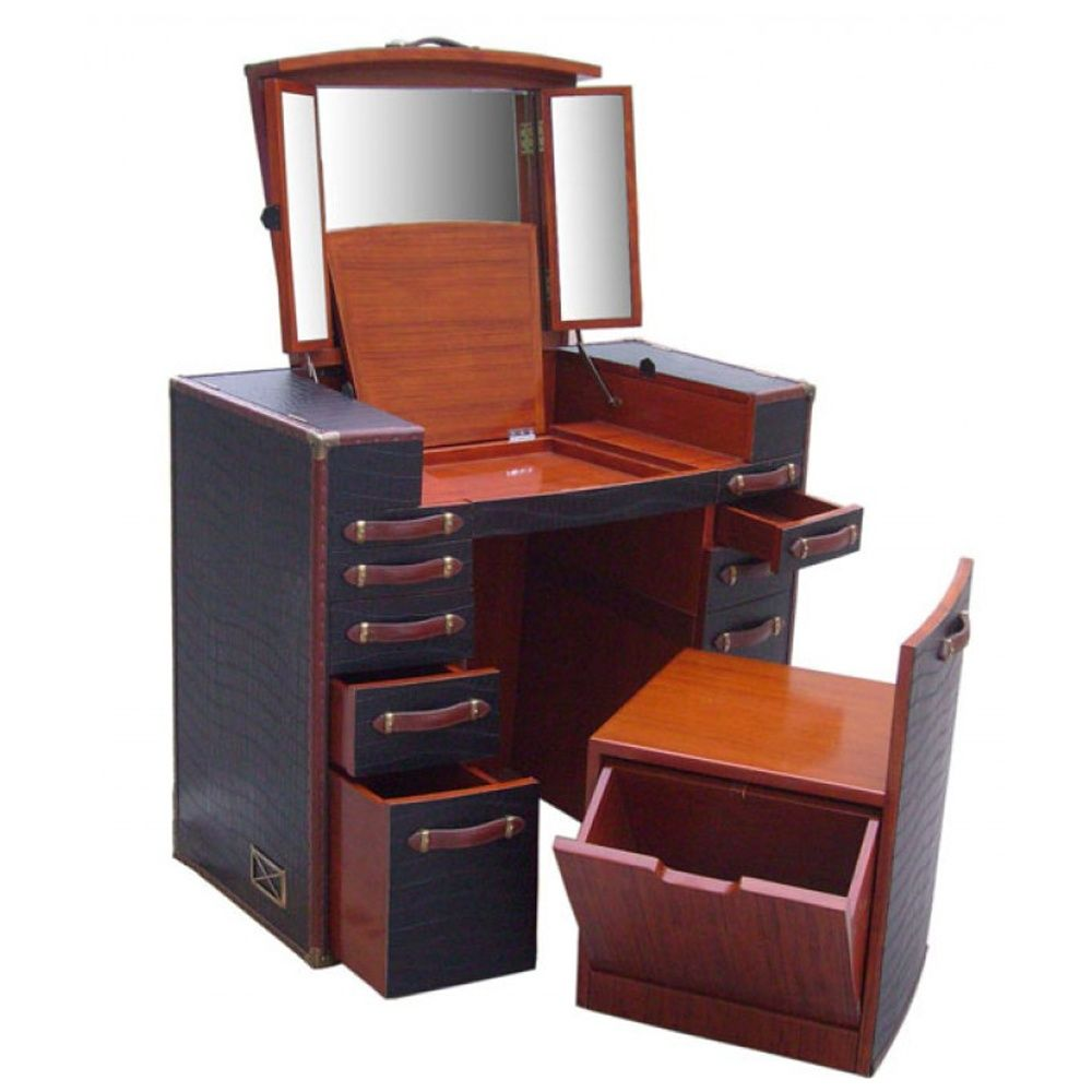 Trunk style dressing table