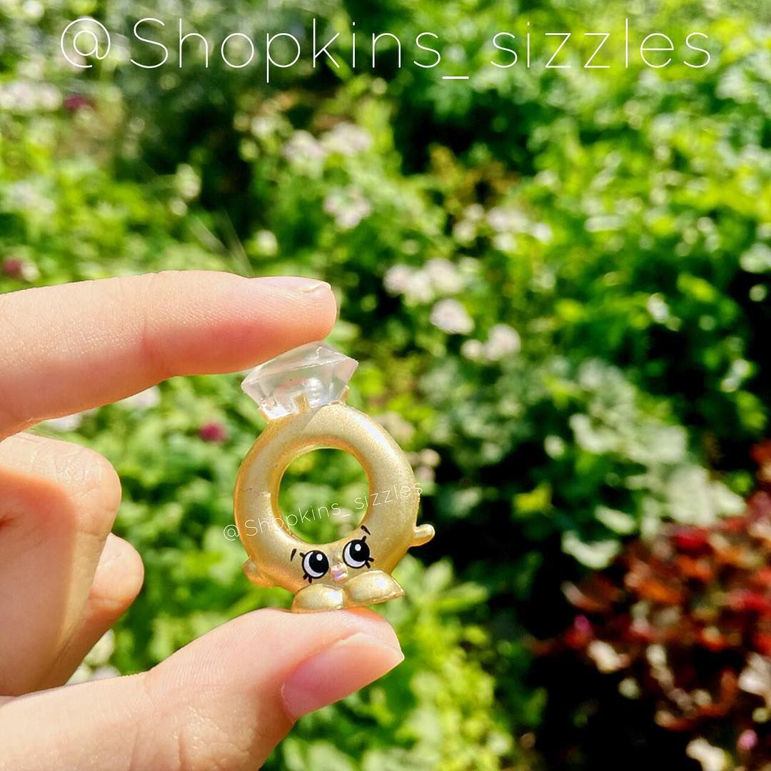 Shopkins Limited Edition Season 3 Roxy Ring