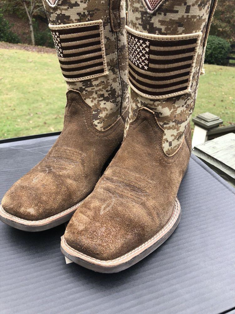 b9d0bc5071d Men's Ariat 10019959 Camo Sport Patriot Cowboy Boots Size 7D: $59.99 ...