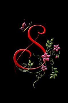 Letter S Flower Phone Wallpaper Name Wallpaper Flowery Wallpaper
