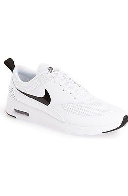 3dec30e4a Nike Air Max Thea Womens 599409-103 White Black Running Training ...