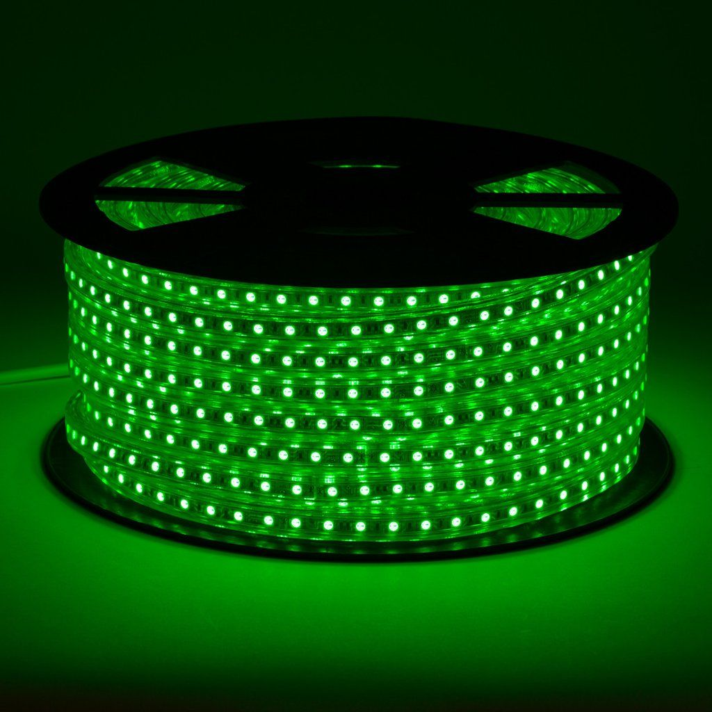 Green Led Light Strips 120V Led Strip Light 165 Ft  50 Meters Roll  Led Strip Wall