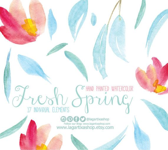 Watercolor clipart,  Floral PNG, wedding bouquet, arrangement, bouquet, frames, digital paper, blue flowers, bridal shower, for blog banner