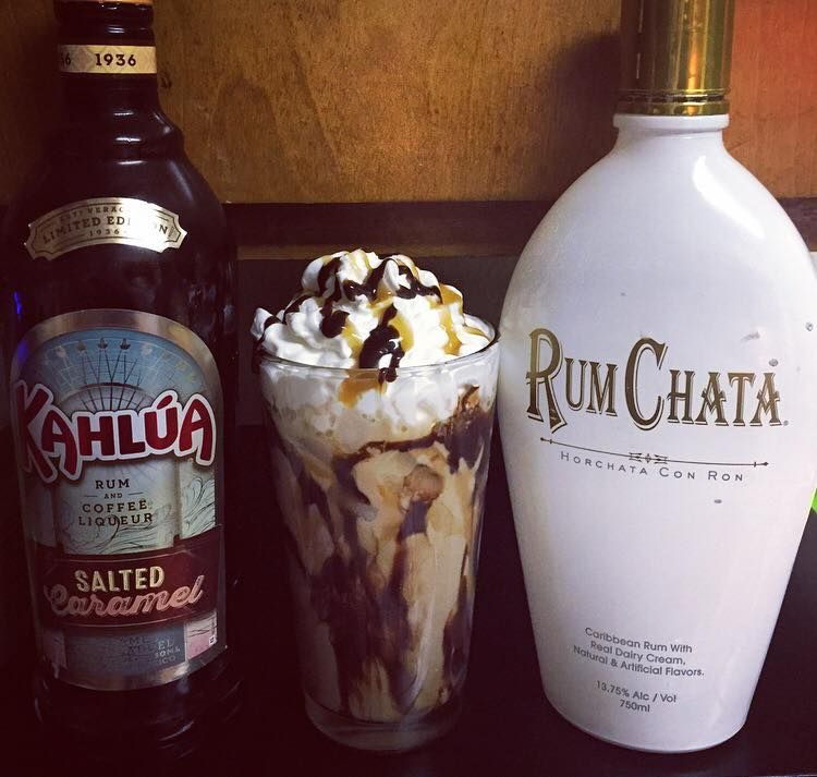 2 Cups Rumchata, 1 Cup Kahlua, 1 Cup Of Milk And Chocolate