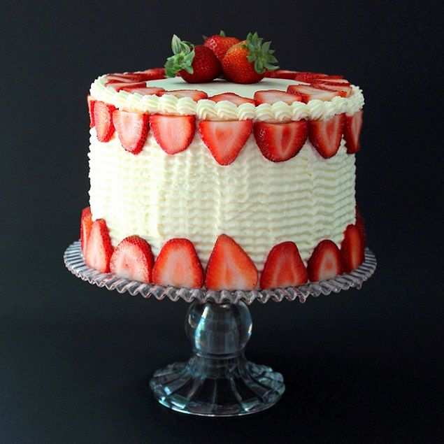 Best Made From Scratch Strawberry Cake