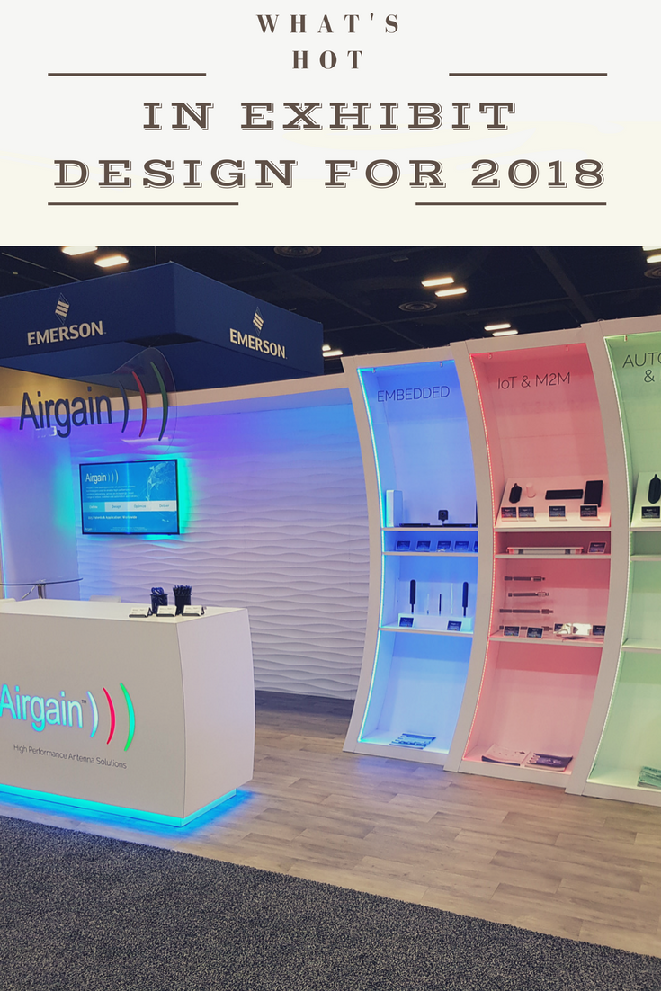 Exhibition Stand Design Trends : Whats hot in exhibit design for 2018 ☆~exhibit design 4