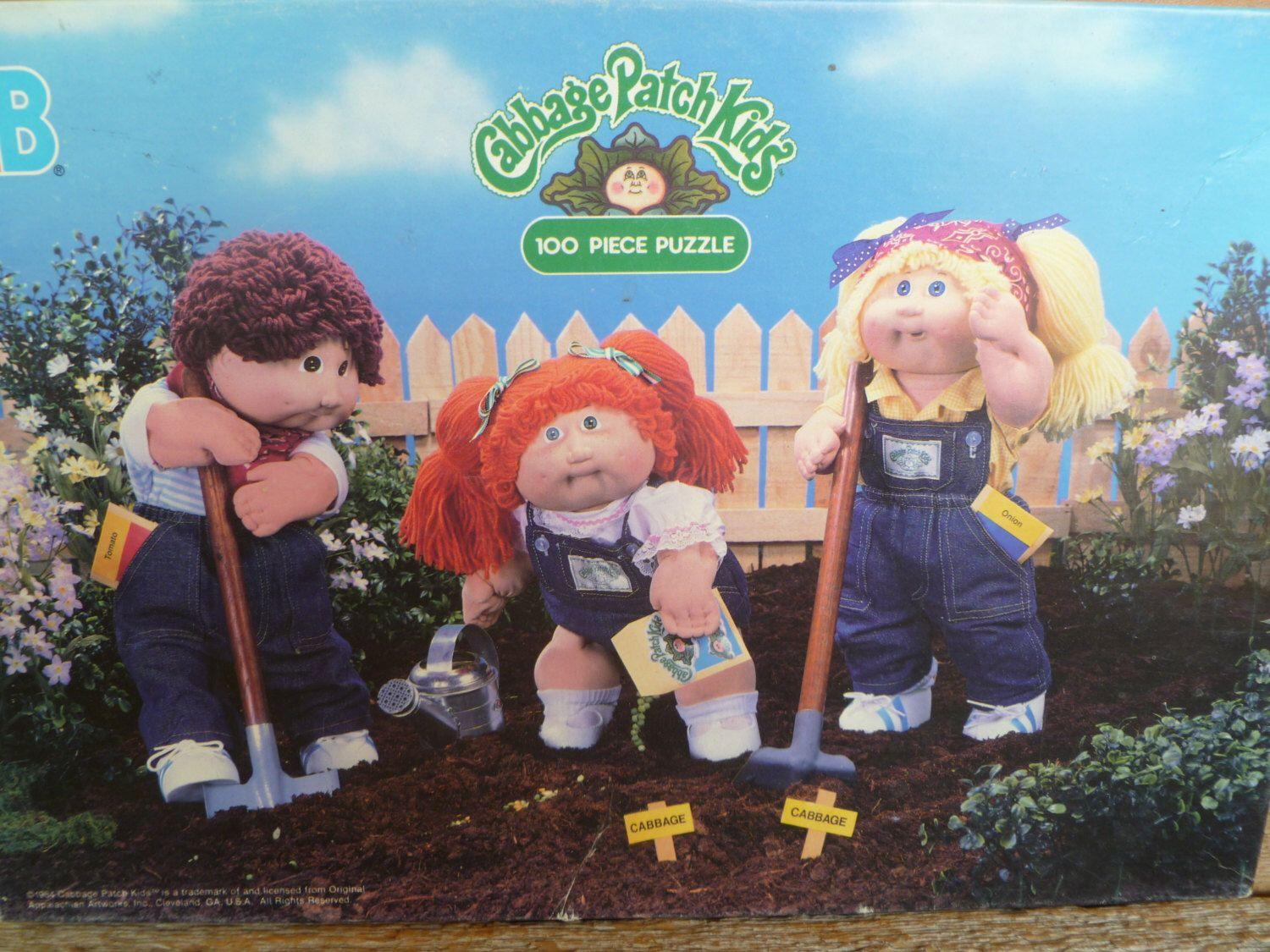 Cabbage Patch Kids Puzzle 1984 Etsy Puzzles For Kids Cabbage Patch Kids Cabbage Patch