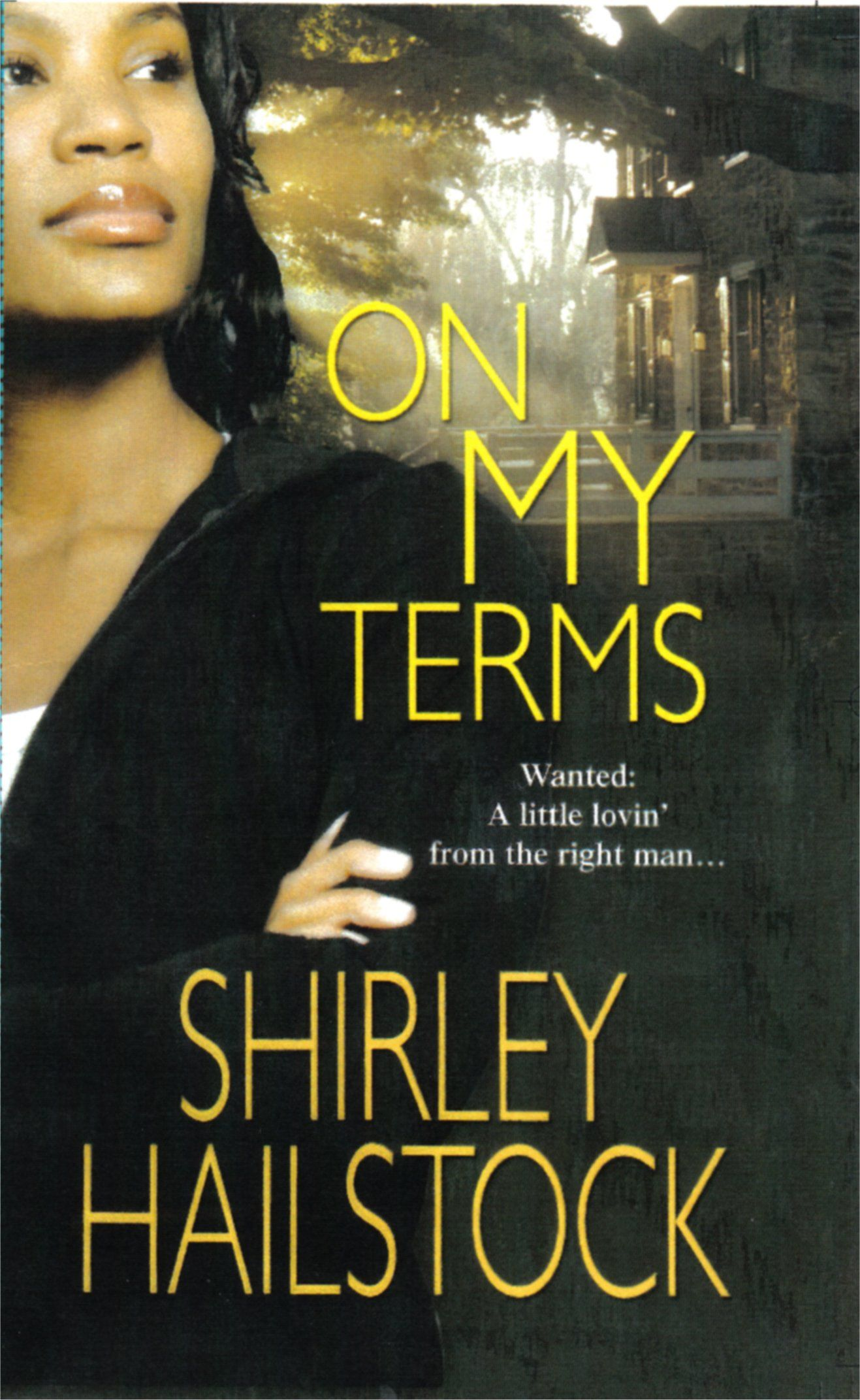 On My Terms by Shirley Hailstock. I wish I had a Clayton