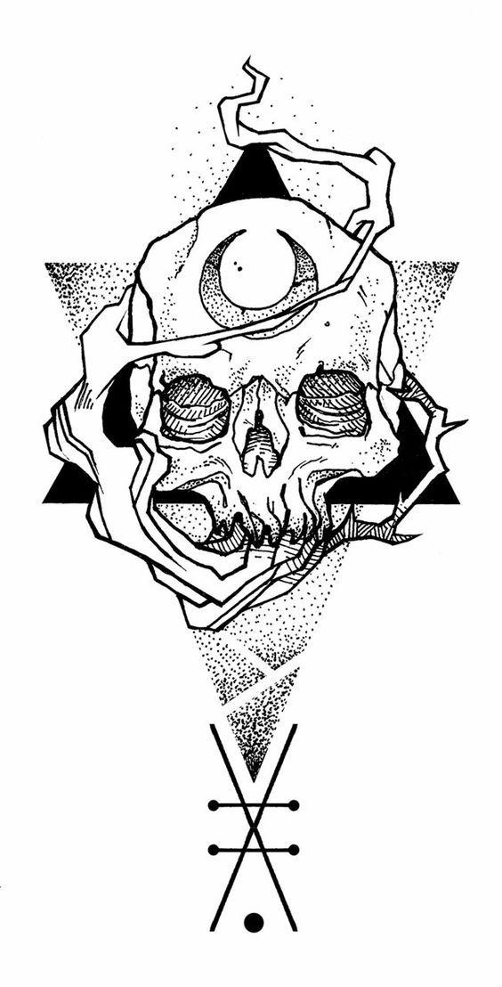 Imagenes De Calaveras Para Dibujar Ideas De Tatuajes Ideas De