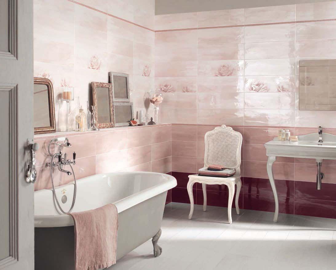 Ambiance romantique pour la salle de bains chic. Découvrez nos ...