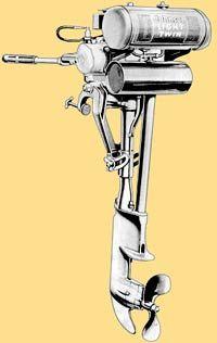 Johnson OA-55 outboard drawing