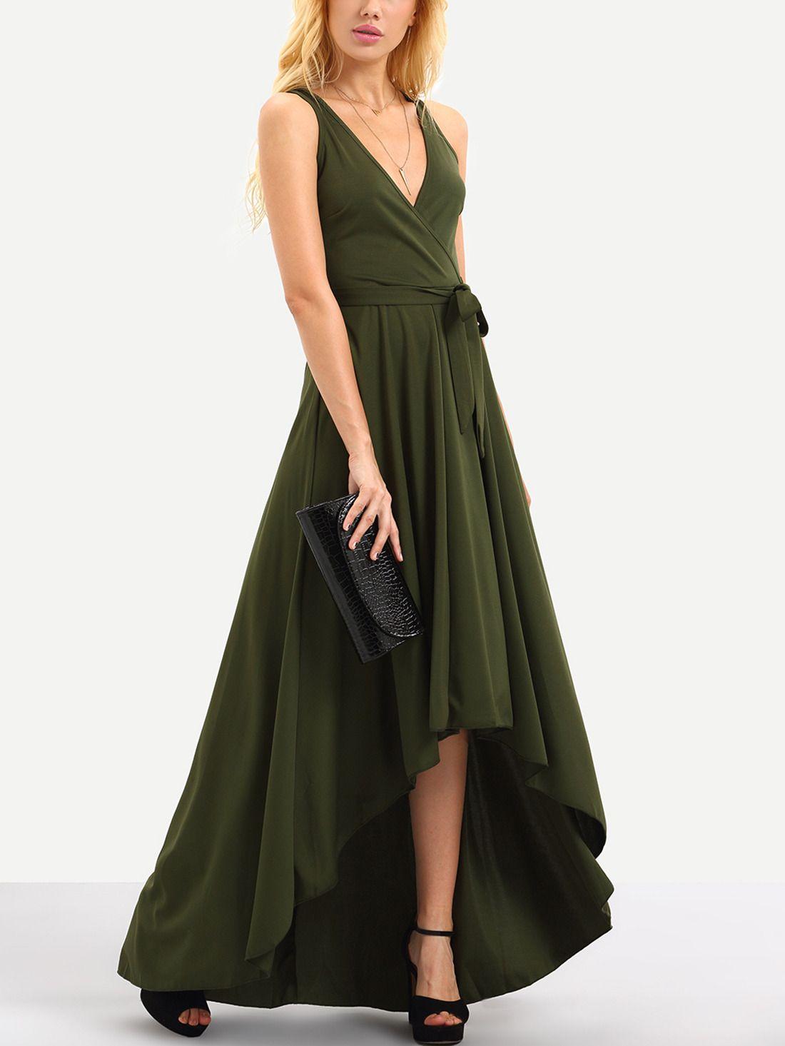 Park Art My WordPress Blog_Olive Green Maxi Dress With Pockets
