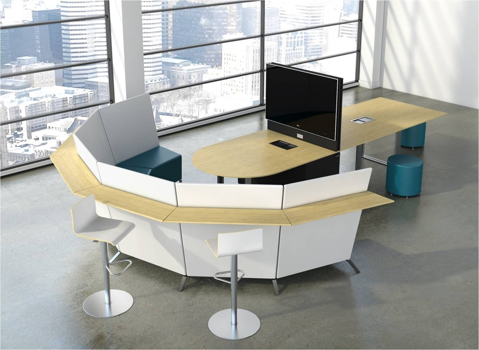 collaborative furniture - collaboration workspace design | new