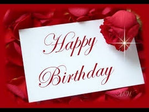 Happy Birthday My Sweety Hearts Only You My Love On My Special Day - YouTube