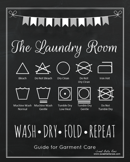 Free Laundry Room Printable Laundry Room Makeover Grace And