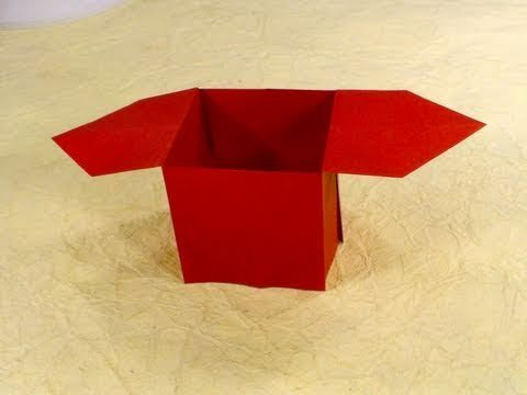Tutorial teaching how to make a simple traditional origami box tutorial teaching how to make a simple traditional origami box httpwww sciox Choice Image