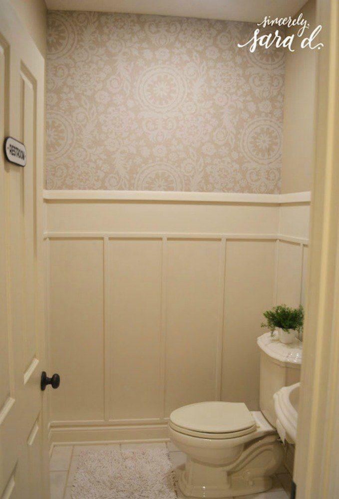 10 Cheap And Easy Home Improvement Hacks You Ll Wish You D Seen Sooner Bathroom Wall Panels Bathroom Paneling Renovation