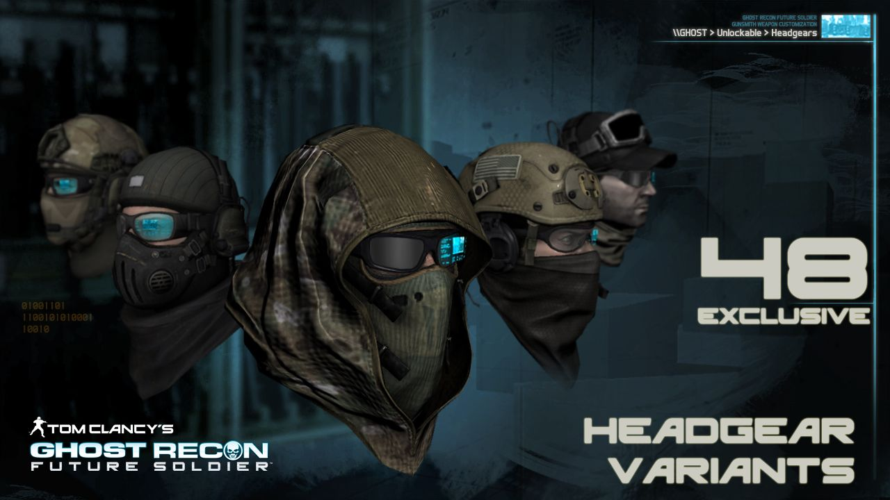 ghost recon future soldier weapons | Future Soldier Character ...