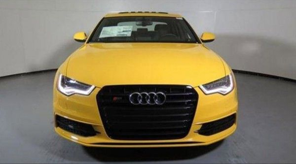 Find Of The Day 2014 Audi Exclusive Imola Yellow S6 Audi Imola