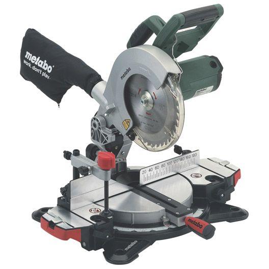 Scie A Onglet Metabo Ks 216 M 216mm 1350w Miter Saw Miter Saw Laser Compound Mitre Saw