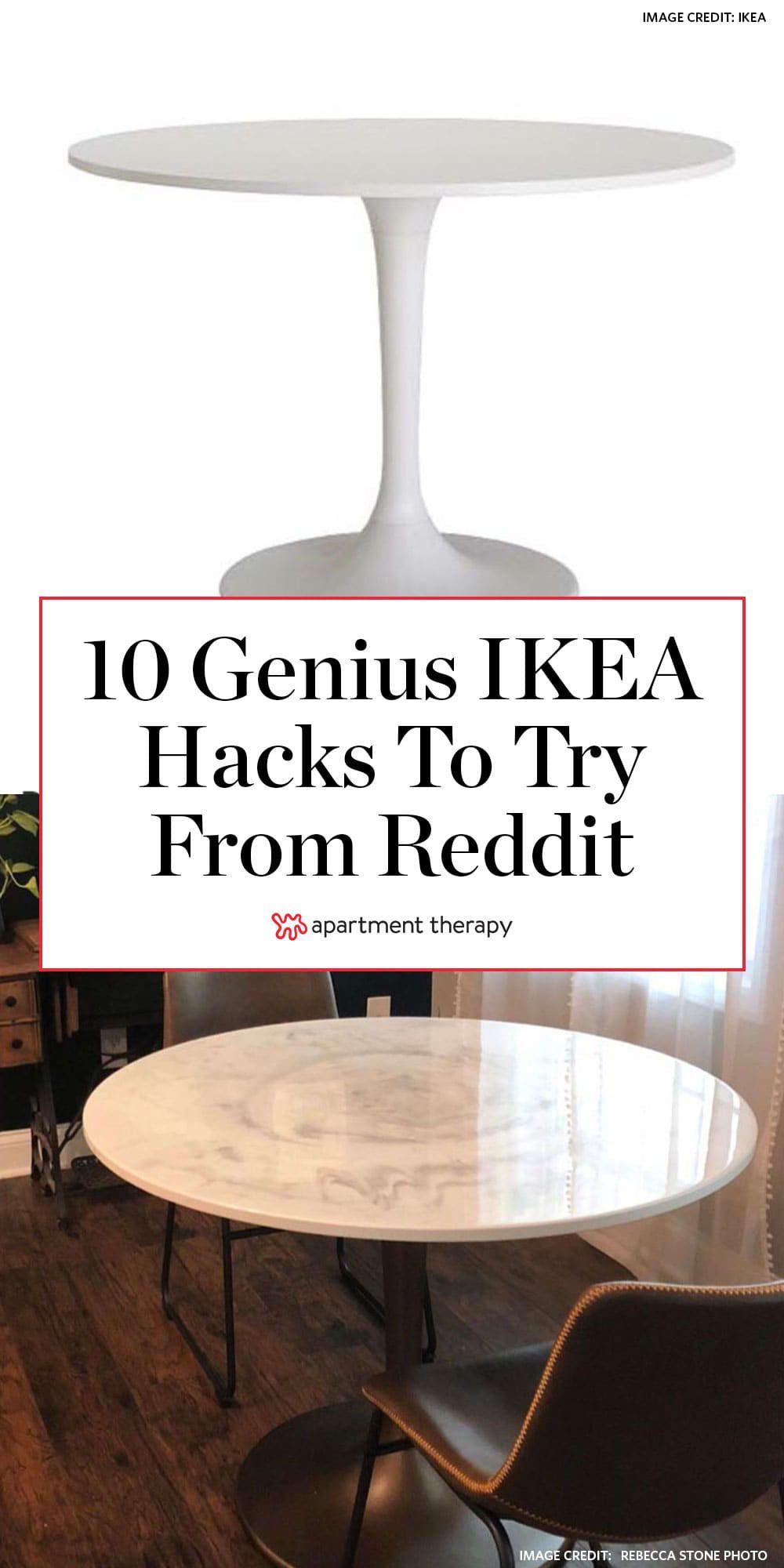 10 Ikea Hacks From Reddit That Ll Inspire Your Own Creativity Ikea Hack Best Ikea Ikea