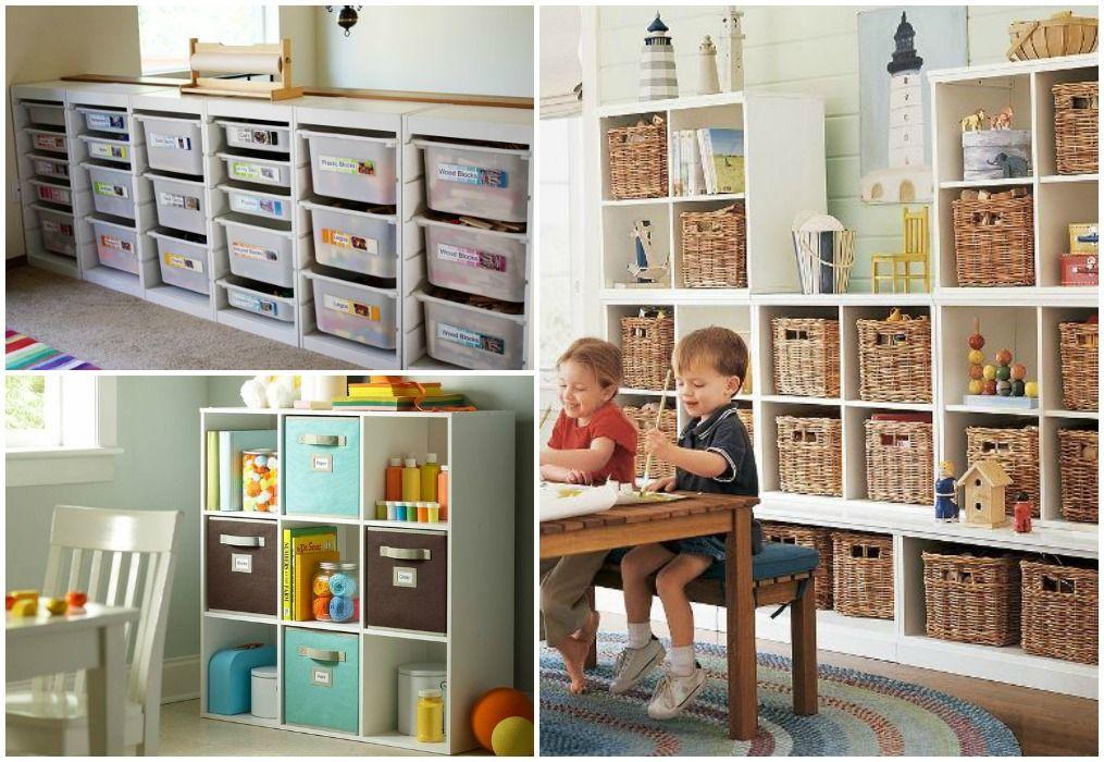 Cajas de almacenaje infantiles stunning cestos de tela for Muebles kiabi