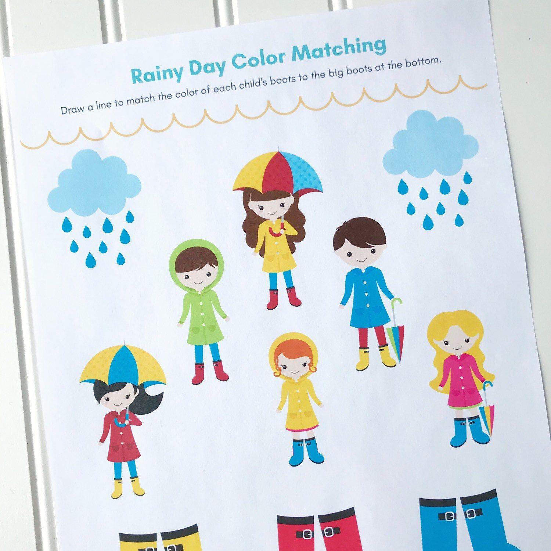 Ocean Amp Water Preschool Printable Activity Book