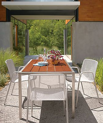 Montego Outdoor Dining Tables Modern Outdoor Dining Bar Tables