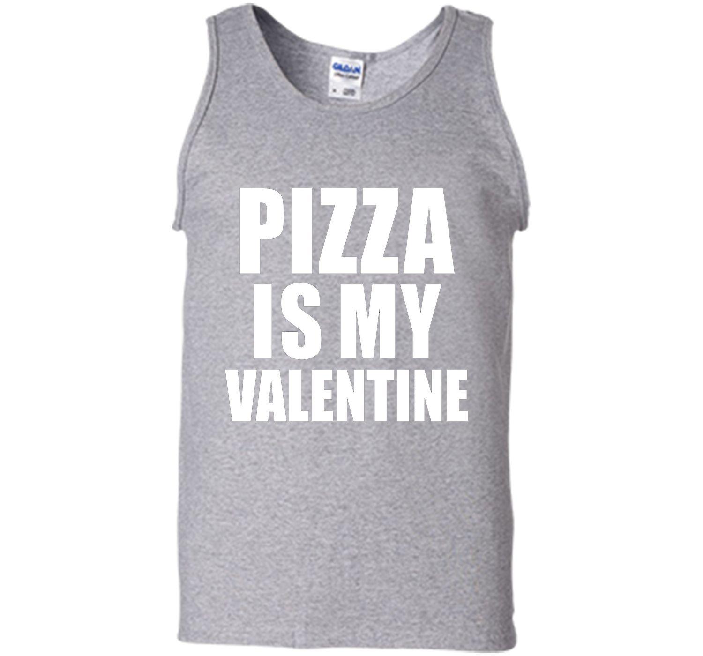 Pizza is my Valentine T-shirt Anti-Valentine's Day Single