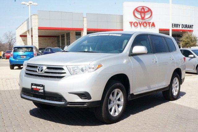2013 Toyota Highlander V6 #Toyota #Highlander #SUV #ForSale #New   #Granbury #Weatherford #FortWorth #Cleburne #Abilene #JerryDurant