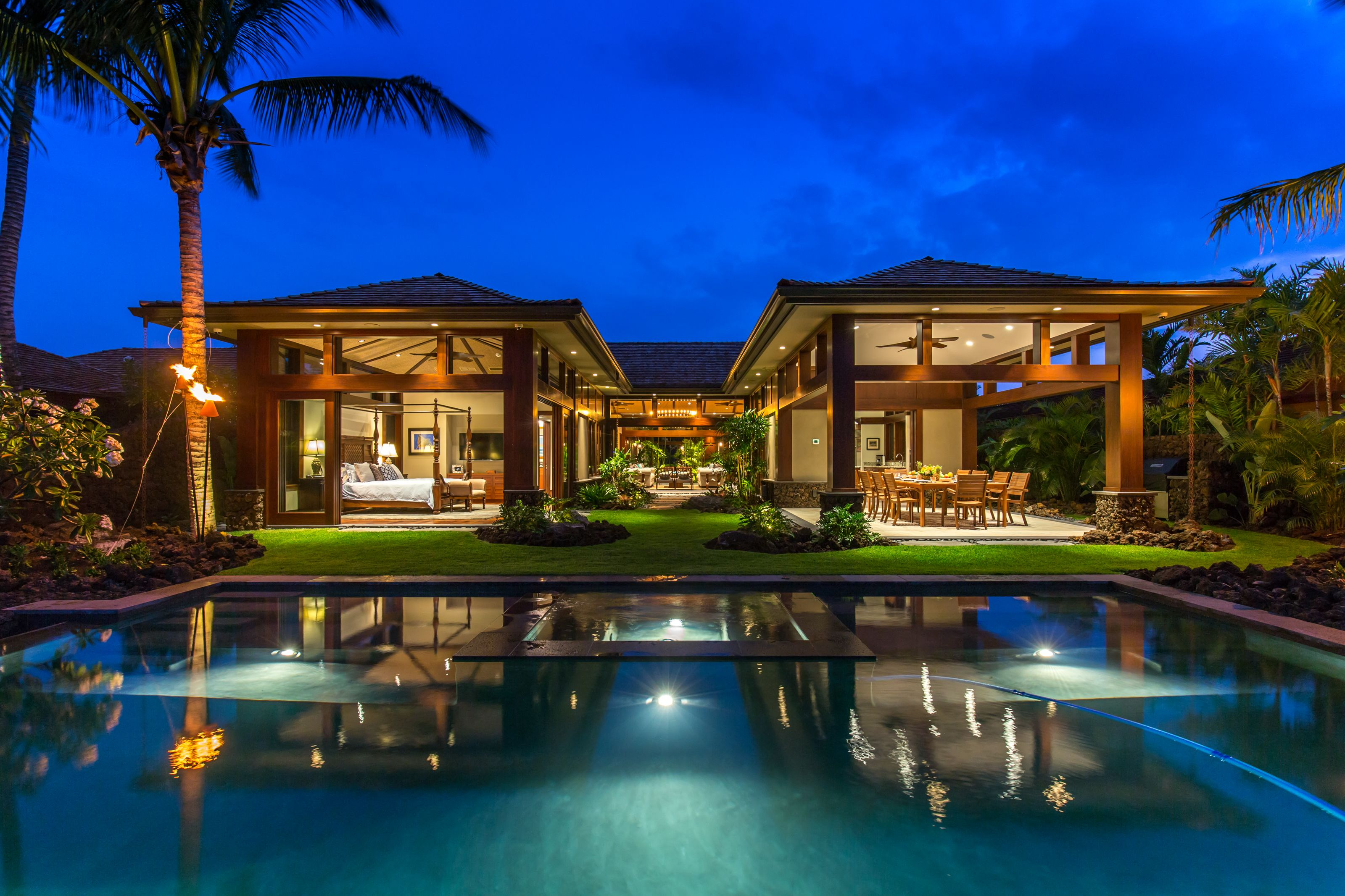Luxurious 5 bed/5 bath private residence at Hualalai