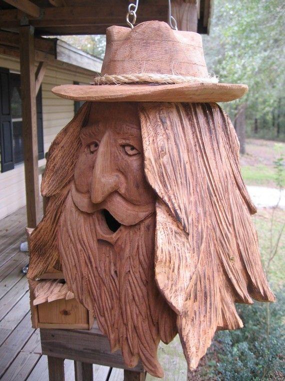 Carved birdhouses by Jorvic62