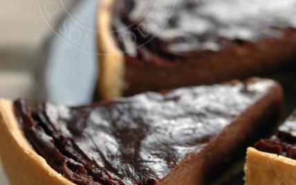 Flan-pâtissier-au-chocolat #flanpatissier Flan-pâtissier-au-chocolat #flanpatissier