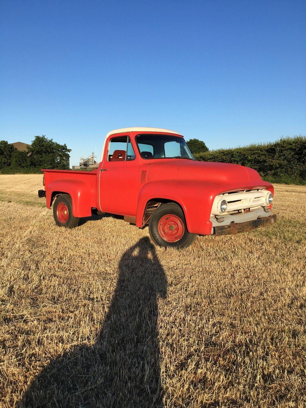 eBay: ford f100 rare 1953 truck hotrod ratrod v8 pickup truck ...