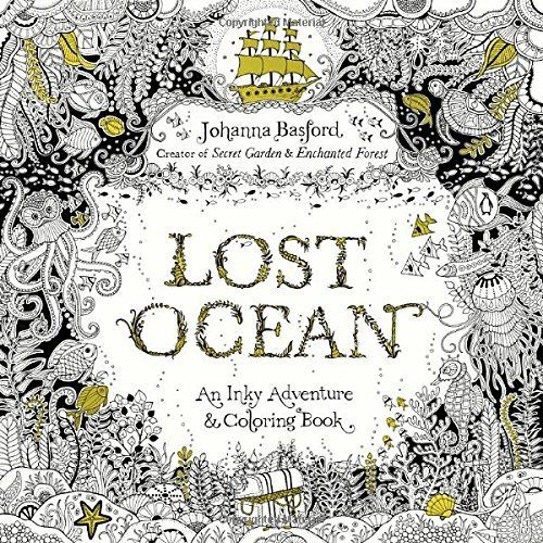 Johanna Basford Is Back Again With Another Best Selling Adult Coloring Book Her First