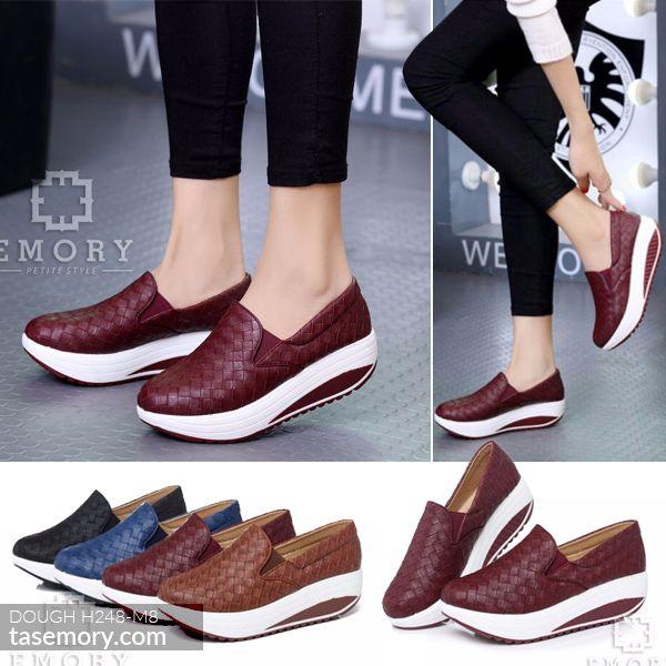 Sepatu Emory Dough H248 M8 Slip On Sepatu Tas