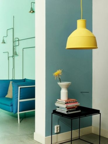 Muuto - Unfold lamp in yellow