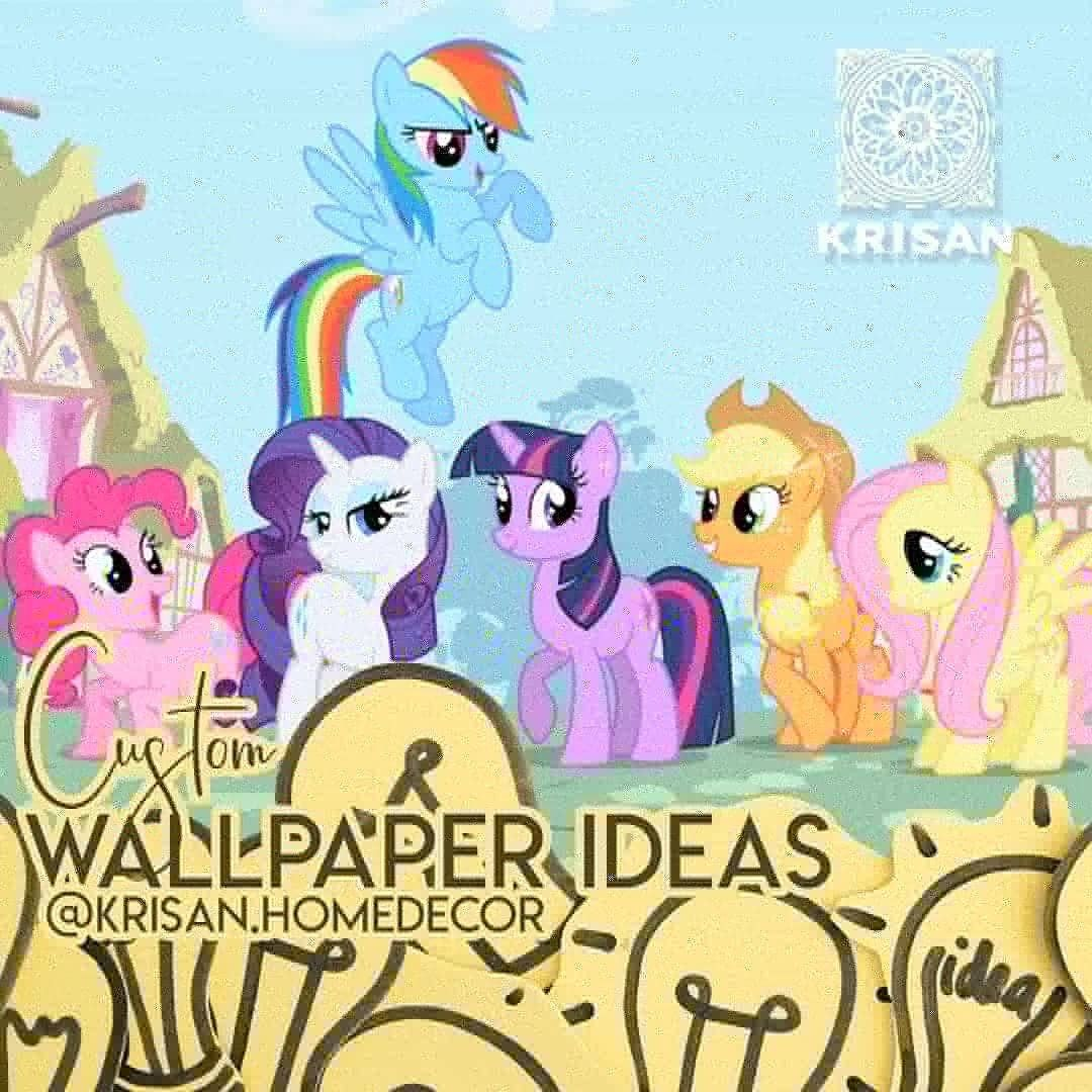 WALLPAPER DINDING CUSTOM DISNEY PONY Kali Ini Ide